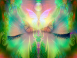 She Sleeps (Collaboration with Phasmid) by nmsmith, Abstract->Fractal gallery