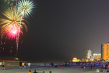 Fire over the Beach by Mvillian, photography->fireworks gallery
