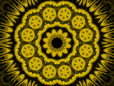 Sunflower Fantasy by LynEve, abstract->fractal gallery