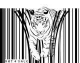 tiger barcode by SFDesigns, Illustrations->Digital gallery