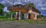 Ancient Gas Station 2 by DigiCamMan, photography->architecture gallery