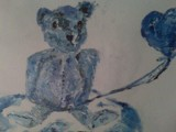 Blue Bear by blithe16, illustrations->traditional gallery