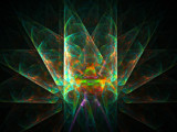 Crystaline Fan by razorjack51, Abstract->Fractal gallery