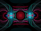 Neon Theatre by razorjack51, Abstract->Fractal gallery