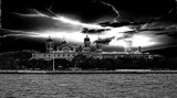 B/W Challenge - Ellis Island by icedancer, contests->b/w challenge gallery