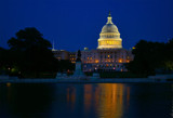 The Capitol at Dusk by phasmid, Photography->Architecture gallery