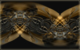 Golden Cat Victory by Flmngseabass, abstract gallery