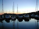 Sunset over Port Solent Marina by Mikeuk, photography->sunset/rise gallery
