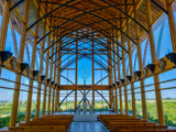 Interior of the Holy Family Shrine by Pistos, photography->architecture gallery