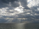 Cancun Sky Opens Up by Goldendog, photography->skies gallery