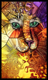 Kitty Paint by bfrank, abstract gallery